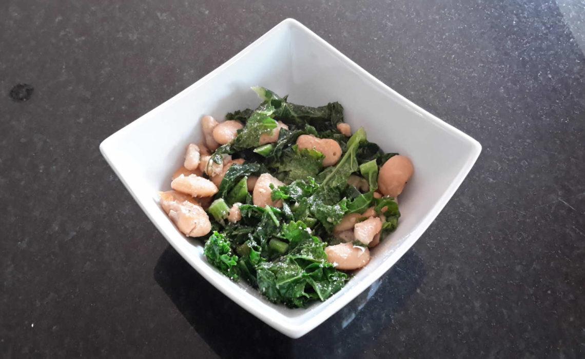 Kale & White Beans